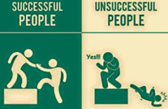7 Determining Factors between Successful and Unsuccessful People
