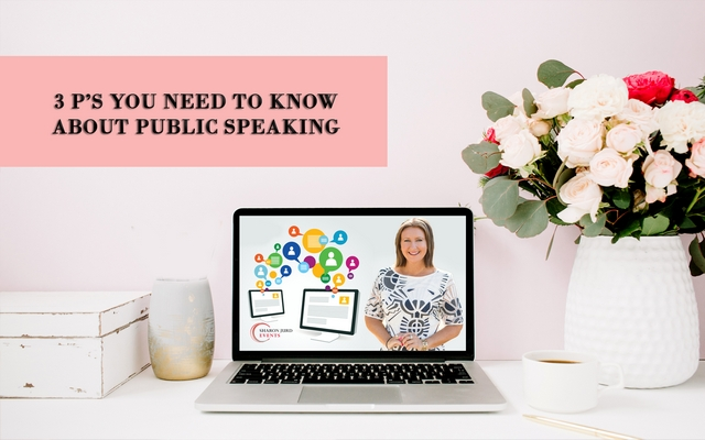 3 P's You Need To Know About Public Speaking