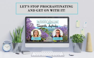 Let's stop procrastinating and get on with it!