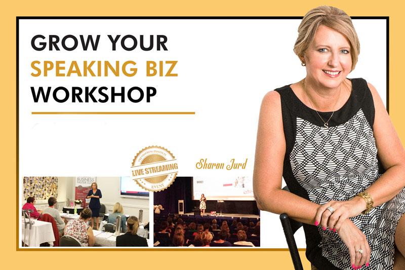 3 Day Grow Your Speaking Biz Workshop